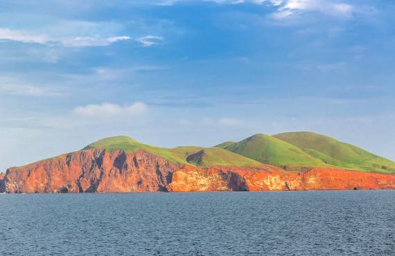 Île d'Entrée Island View