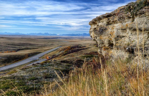 Head-Smashed-In Buffalo Jump - Fort MacLeod