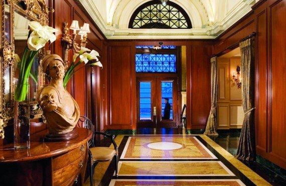 Hôtel le St-James - Hall d'entrée