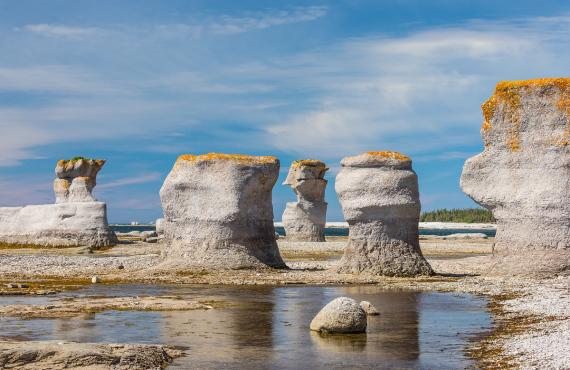 Monolithes Archipel Îles Mingan
