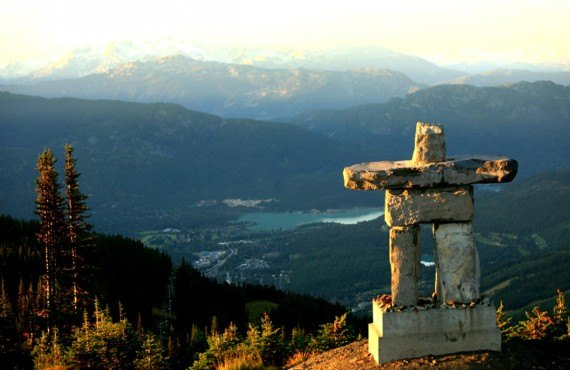 Inukshuk du Mont Whistler