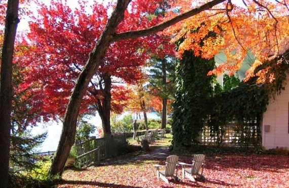 Manoir Hovey - en automne