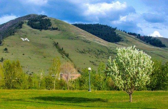 Missoula in spring