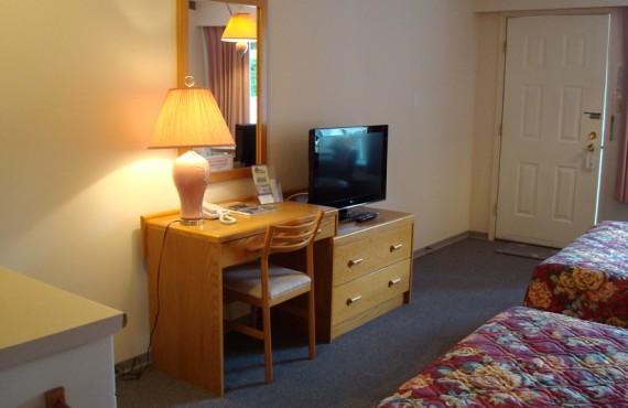 Motel Ocean Crest - Chambre 2 lits et Cuisinette