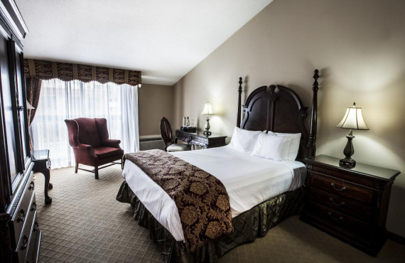 Chambre de luxe lit king