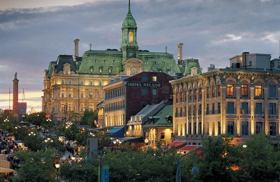 Place Jacques-Cartier, Old Montreal