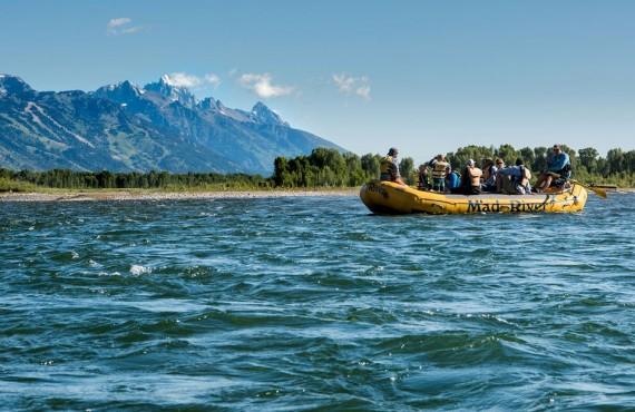 Rafting en eau vive