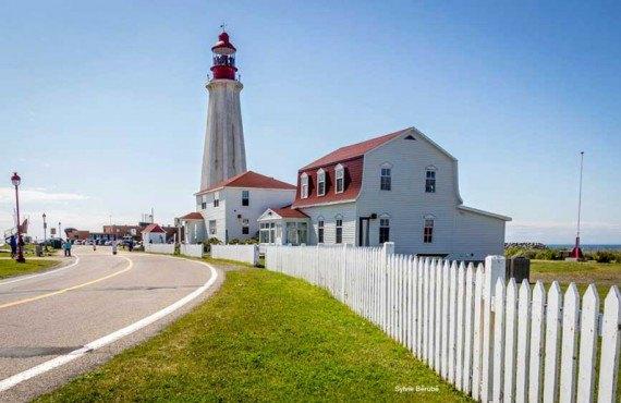 Phare du site historique maritime - Rimouski, QC