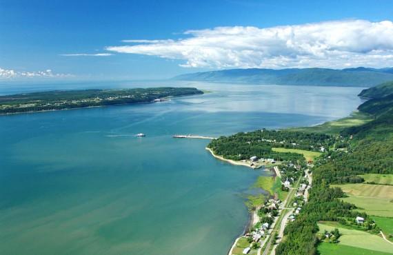 Survol en Hélicoptère - Baie-St-Paul, QC