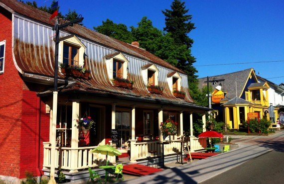 Baie St-Paul village, Charlevoix