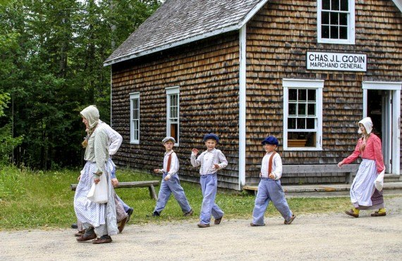 Village historique Acadien, New-Brunswick