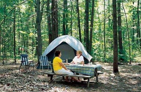 Camping en tente - Parc d'Oka