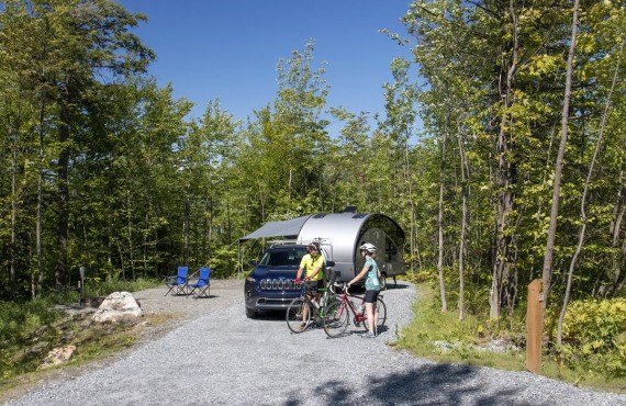 Mont Orford Park Campground