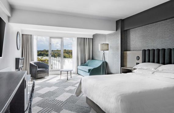 Chambre avec 1 lit