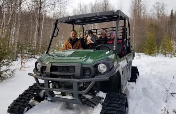 Transferts en buggy des neiges