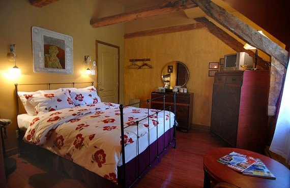 Auberge Le Bôme - chambre santard