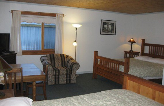 Auberge Ripley Creek - Chambre 2 lits Queen