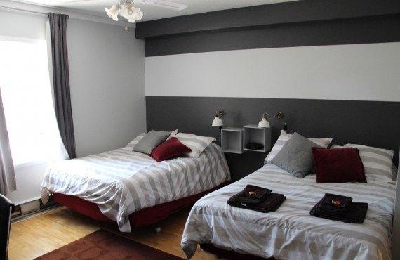 Auberge Amérik - Chambre 2 lits double