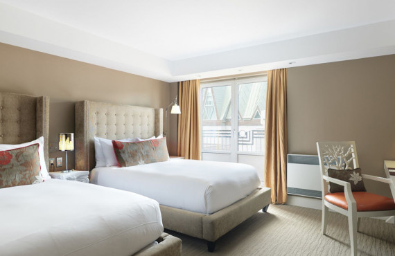 Comfort room 2 beds