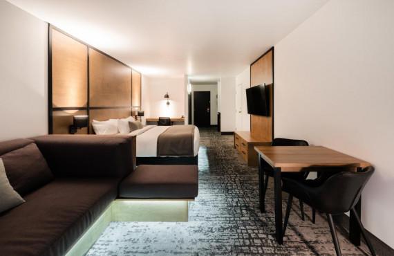 Chambre lit King + Sofa-lit double