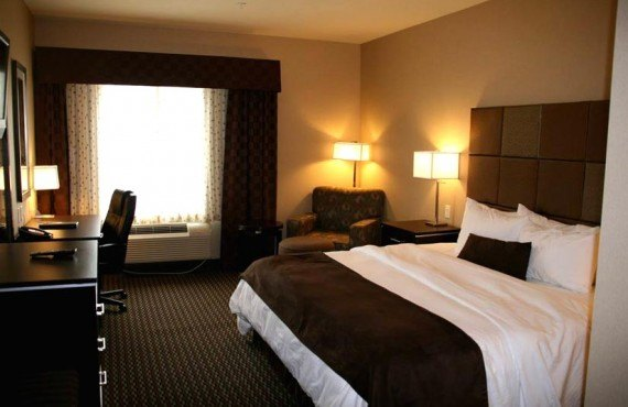 Best Western Plus Wine Country - chambre lit king