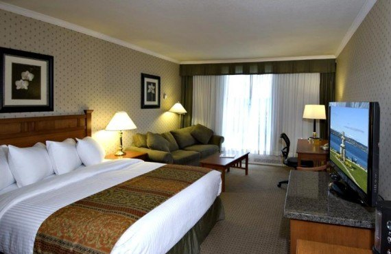 Best Western Sands Vancouver - Chambre lit king