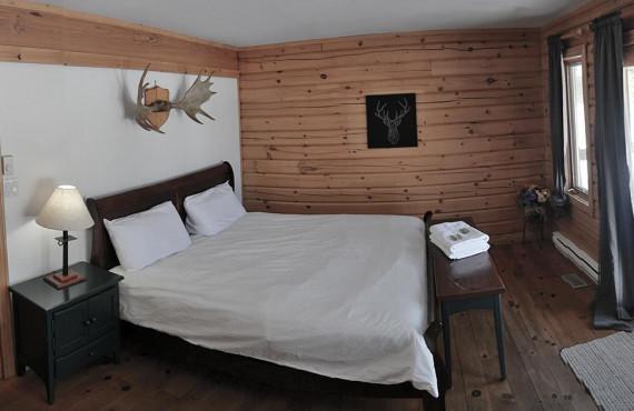 Chambre avec vue sur le lac Taureau