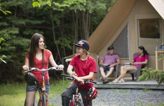 Camping du Parc du Bic - Bas St-Laurent, Qc