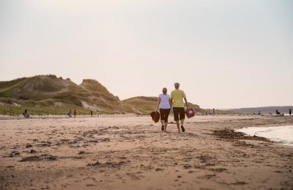 La plage de Cavendish, IPE