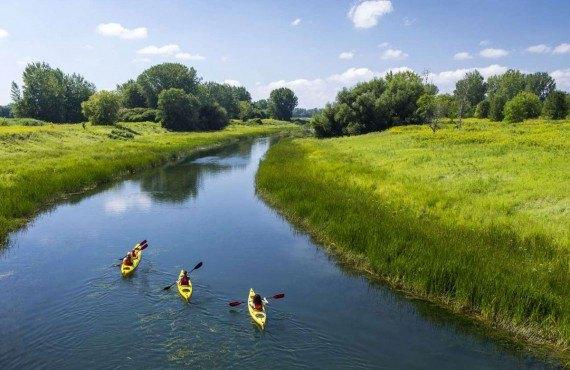Chenal La Passe en Kayak