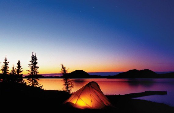 Camping in Jacques-Cartier Park, your 5-star Hotel