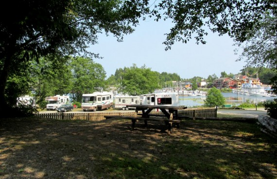 Camping Ucluelet - Site pour campings-car
