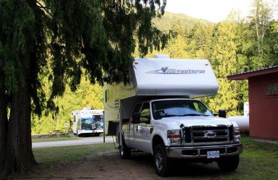 Camping Williamson's Lake - Camping-car