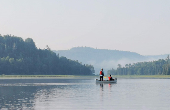 Canoe camping guide