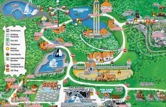 Marineland Toronto - Plan