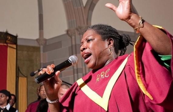 Soliste de la Chorale Gospel