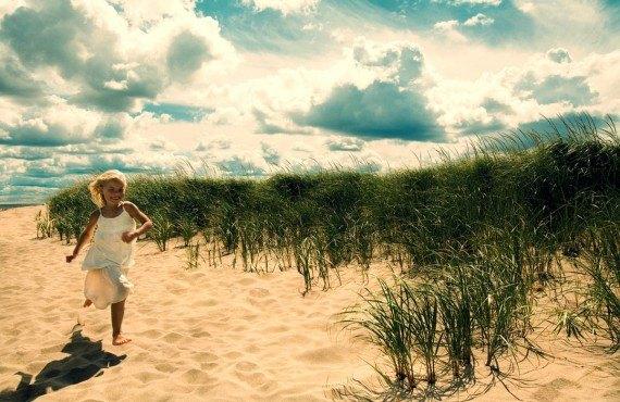 Dunes de sable, Kouchibouguac, Nouveau-Brunswick