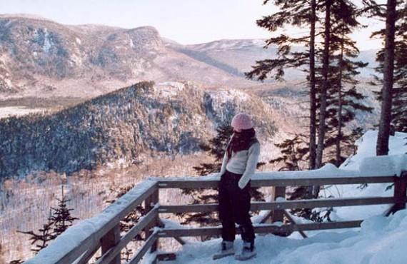 Un des points de vue de la Vallée Bras-du-Nord