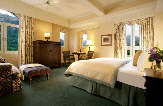 Fairmont Banff Springs Hotel - Chambre Deluxe
