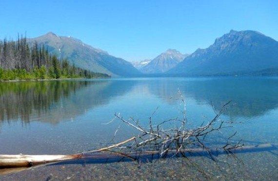 Paysage du parc national Glacier