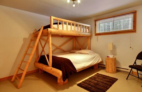 Ma Cabane au Canada - Chambre lits superposés