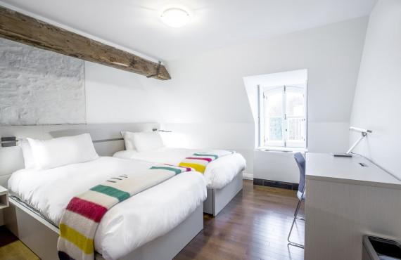 Chambre contemporaine - 2 lits simples