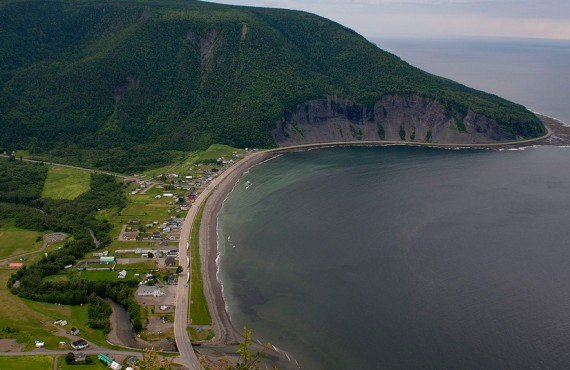 Mont-Saint-Pierre, Québec, Canada