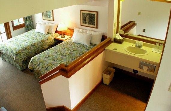Pourvoirie Canadian Princess - Chambre 2 lits
