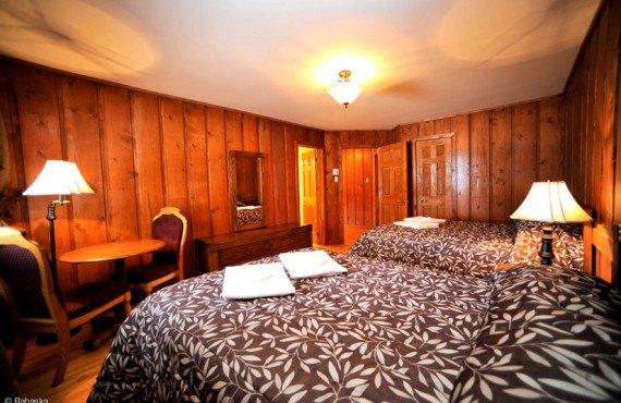 Pourvoirie Rabaska - Chambre d'un chalet