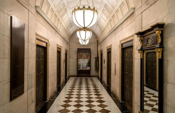 Ritz Carlton Philadelphia - Les ascenseurs