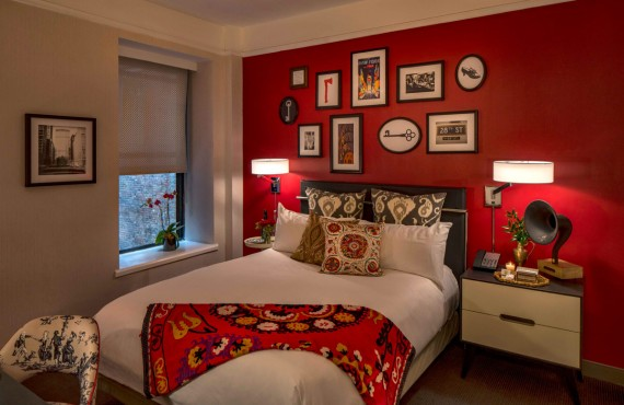 The Redbury New York - Chambre lit Queen