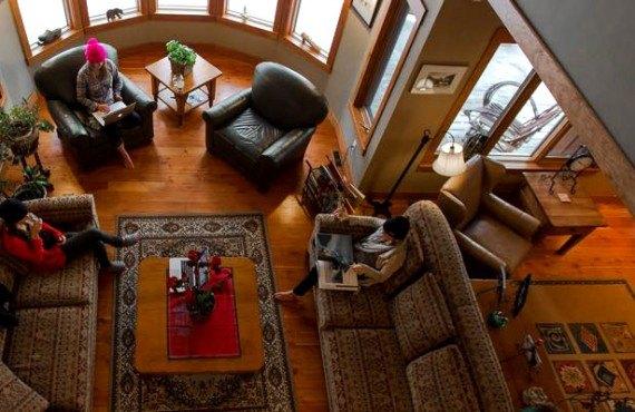 Vagabond Lodge - Vue de la mezzanine