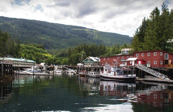 Village de Telegraph Cove