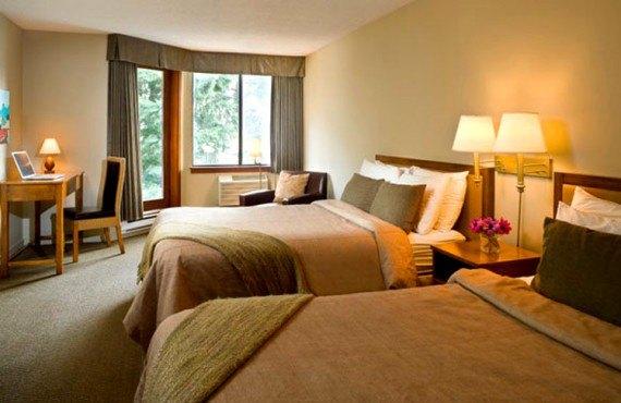 Whistler Village Inn - Chambre 2 lits Queen
